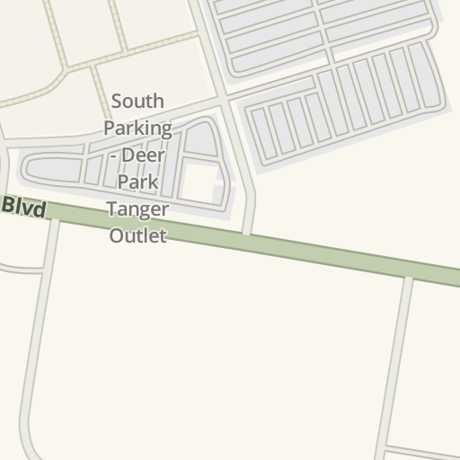Waze Livemap - Driving Directions to Island Recreational, Deer Park on