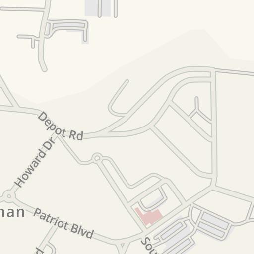 Waze Livemap - Cómo llegar a Centro de Liquidación Berrios