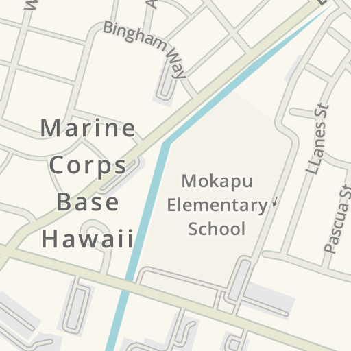Marine Corps Base Hawaii Map.Waze Livemap Driving Directions To Semper Fit Gym Mcbh Marine