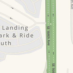 Driving directions to Fishers Landing CTran Park Ride South