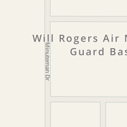 Driving Directions To Will Rogers Air National Guard Base