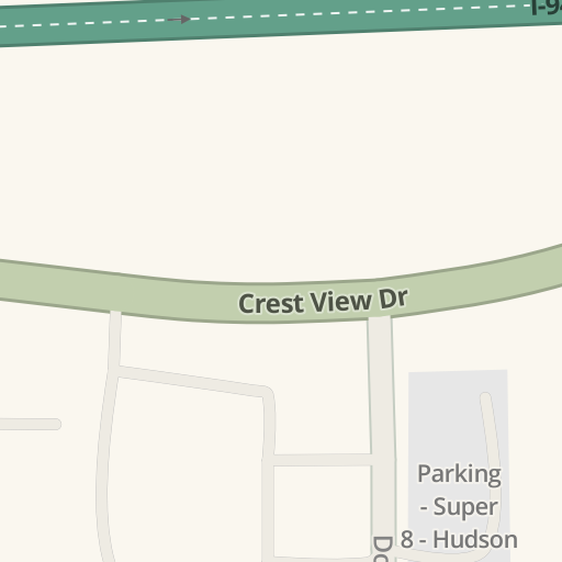 Driving Directions To Luther Hudson Chevrolet 1220 Crest View Dr Hudson Waze