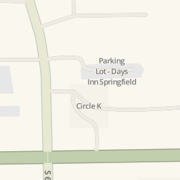 Driving Directions To Cracker Barrel Springfield United States - Cracker barrel us map