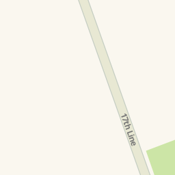 Driving directions to Innerkip Presbyterian Church Township of