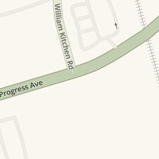 Driving Directions To Straight Poker Supplies 31 Progress Ave Toronto Waze